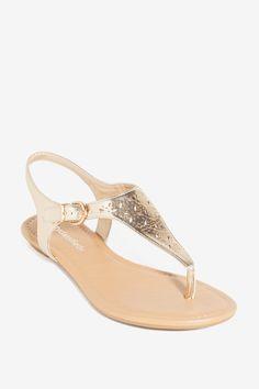 Women's Sandals | Artesia-s Fine Lines Laser Cut Sandal | A'GACI