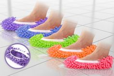 Mop Slippers - 5 Colours!