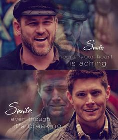 This picture just about made me sick. SO SAD! Idc who or what Benny is,I'll forever love him for what he did for Dean AND Sam