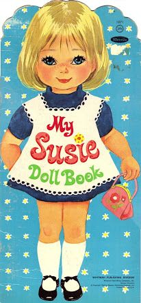 My Susie Doll Book #1971 © 1968 - Whitman Publishing Co.: (8 of 9)