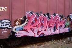 Kuma pays homage to all the graff hoes out their jockin, boosting all ready inflated egos, and then some.