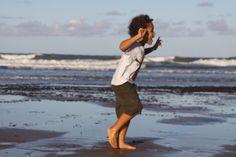 Criança Feliz na Praia   Caiçara's Lifes Style  Península de Maraú - BAHIA - BRAZIL