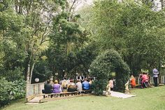 Bianca and Anthony's Fairytale Forest Wedding