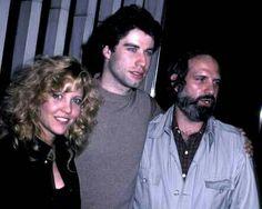 "Nancy Allen, John Travolta & director Brian De Palma at the premiere of their 1981 thriller ""Blow Out"""