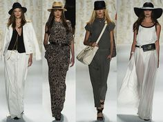 The Best Of New York Fashion Week Spring 2013 Runway Shows. Rachel Zoe Spring 2013 Collection.