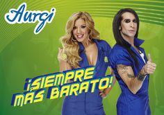 Aurgi, siempre más barato ahora con Rebeca y Mario Vaquerizo. Aquí y ahora.