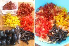 » Drob din piept de pui cu ciuperciCulorile din Farfurie Grains, Food, Pie, Essen, Meals, Seeds, Yemek, Eten, Korn