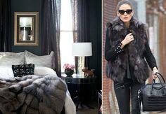 Moda + Décor   Mix de texturas. Confira: http://casadevalentina.com.br/blog/detalhes/moda-+-decor--mix-de-texturas-3218  #decor #decoracao #interior #design #casa #home #house #idea #ideia #detalhes #details #estilo #casadevalentina #fashion #moda