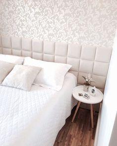 {Inspiração} Lindo quarto de casal!! Boa noite e bons sonhos!  Imagem: Pinterest  #boanoite #goodnight #quarto #quartocasal #decor #detalhes #decoration #decoracao #cabeceira #apartamento  #meuapto #meuapto202 #instadecor