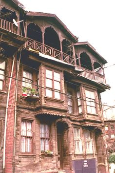 A traditional Ottoman wooden house,