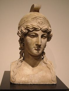 Athene - from Pisoni's villa at Herculaneum - Naples, Archaeological Museum