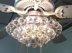 Ceiling Light, Chandelier Ceiling Fan Light Kit 80 000 Hour Rated Life  Using Electronic Low