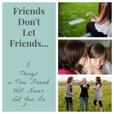 Your mother always warned you to choose your friends wisely. Having a few true friends in your corner can make all the difference in the world. Do you have a true BFF who exhibits all five of these qualities? Are you that friend? Read on as eBay shares five things that a true friend would never let you do!