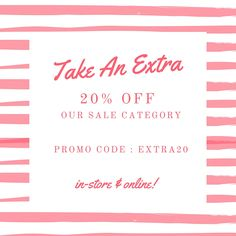Head over to shoplbvb.com and take an extra 25% off our sale category with promo code EXTRA25