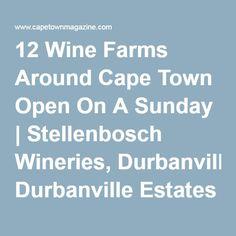 12 Wine Farms Around Cape Town Open On A Sunday   Stellenbosch Wineries, Durbanville Estates & Franschhoek Vineyard Tastings Weekend South Africa