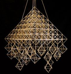 A Big Glass Himmeli Diy Projects To Try, Geometry, Ceiling Lights, Glass, Crafts, Mobiles, December, Craft Ideas, Landscape