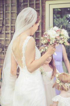 A Lusan Mandongus Dress for a Wild Flower, Vintage and Countryside Inspired Wedding...