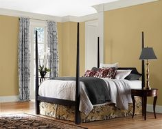 Fuller Interior and Design: Sherwin Williams Restrained Gold