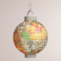 One of my favorite discoveries at WorldMarket.com: Seashell Battery-Operated Paper Lanterns, Set of 4