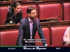 31/10/2013 M5S Andrea Colletti, immediate dimissioni del ministro Cancellieri