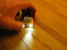 Bunch of tutorials on making flashlights out of anything, like a tic tacs box, as pictured here. What a fun way to learn about circuitry.