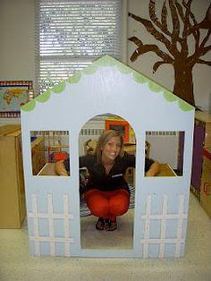 Pre-K=Play: House/Home Living center