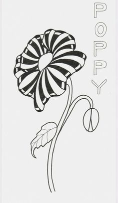 Aquafleur Poppy by Deborah A. Pace