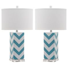 "Found it at Wayfair - Giada 27"" H Table Lamp with Drum Shade"