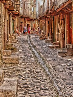 San Martin de Trevejo, calli a ciai