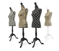 Adjustable plus size dress forms for sewing