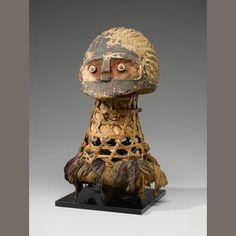 Large Tikar Headdress, Cameroon/Nigeria  Bonhams site