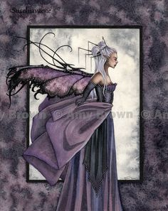 Fairy Art: Amy Brown Fantasy and Faery Art: The Official Online Gallery Amy Brown Fairies, Dark Fairies, Fairy Art, Fairy Room, Unicorns And Mermaids, Love Fairy, Fairytale Art, Magical Creatures, Sign Printing