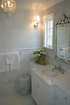 Love the marble countertop, backsplash and gray kitchen cabinets. Description from pinterest.com. I searched for this on bing.com/images