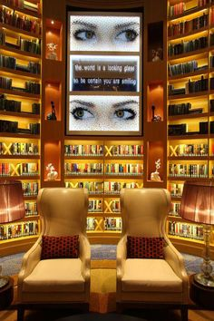 The library on the Celebrity Reflection! One of the BEST vacations of my life. #cruiseshipcelebrityeclipse Celebrity Cruise Line, Celebrity Cruises, Cruise Travel, Cruise Vacation, Celebrity Eclipse, Cruise Insurance, Hawaiian Cruises, Singles Cruise, Alaskan Cruise