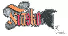 """""""Fiasko"""" - Sketch from Fulvio Ceola Graffiti Concepts"""