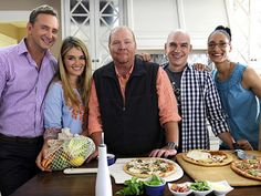 The Chew    DVR it everyday. I love the daily dish on cooking and eating, featuring five hosts who explore food from various angles