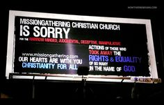 As impossible as it might sound, there is a shift happening right now within the professing Christian church towards, not away from, accepting same-sex marriage. And it's not only with the Methodists and Presbyterians, it's beginning to happen in the Baptist churches as well.