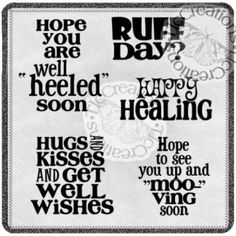Get Well Happy Healing