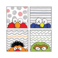 Bert Sesame Street Iphone X Wallpaper Good Morning Kaws Utxkawsxsesamestreet Sesamestreet