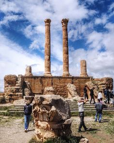 Roman Ruins Djemila Algeria by selda.s