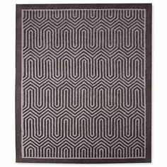 Happy Chic by Jonathan Adler Chevron Wool Rectangular 8' x 10' Rug - $800