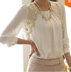 Cute lace top!