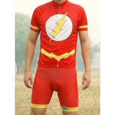 Eclipse Cycling The Flash Cycling Jersey , Bib Shorts - Custom Cycling Jerseys Store
