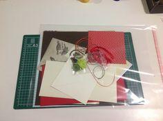 Papiery i inne materiały na dzisiejsze warsztaty kartkowe / papers and other materials for today's cardmaking workshops :)