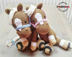 Amigurumi, horses, MyKrissieDolls, Crochetkowo