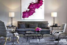 """Los cuadros en la decoración de tu sala son un aditivo fundamental, aportan mucha vida. Los """"decorativos"""" siempre se combinan con la paleta de colores de tu sala."""