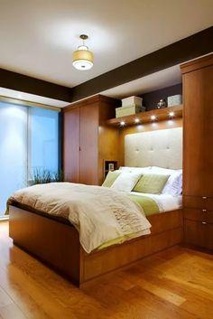 спальня со шкафами по бокам кровати: 13 тыс изображений найдено в Яндекс.Картинках