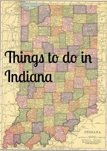 20 Things to do in Indiana. Road trip USA. Places to go on a road trip. Travel across America.