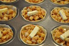 thanksgiving desserts apple | Mini Apple Pies..Thanksgiving Dessert | The BAKER in Me!