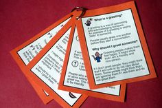 Mini social books that target interrupting, complimenting and greeting.